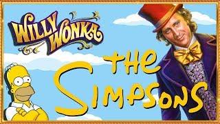 WONKA & THE SIMPSONS Slots in LAS VEGAS!!