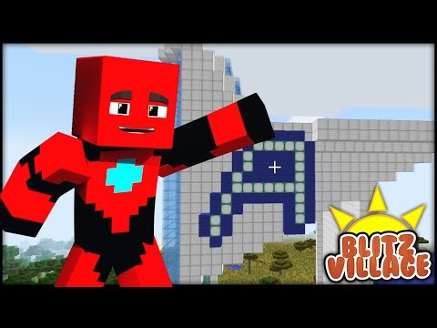 Minecraft - BLITZVILLAGE -  Episode 20 -Avengers Tower!