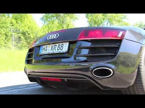 JP Performance - Audi R8 V10 Klappenabgasanlage