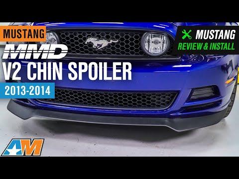 2013-2014 Mustang MMD V2 Chin Spoiler Review & Install