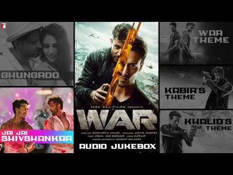 War Full Song Audio Jukebox  Hrithik, Tiger, Vaani  Vishal And Shekhar  Sanchit & Ankit  Kumaar