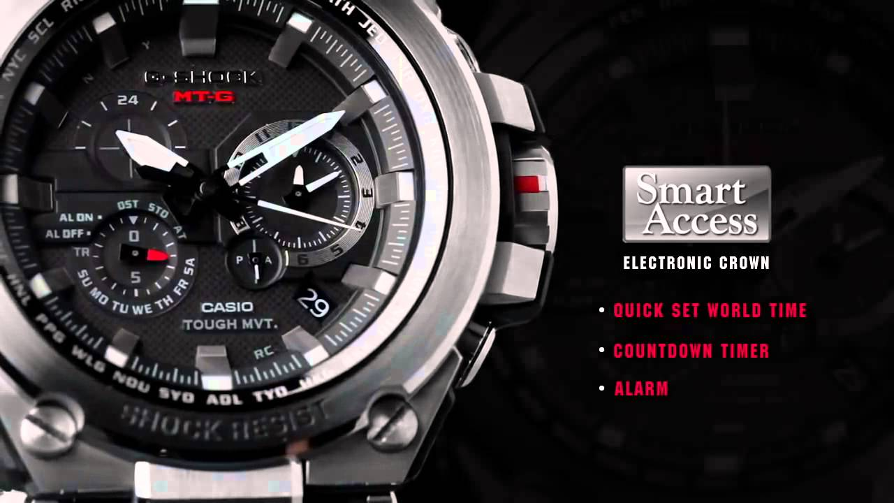 5c7ad3f23d23 Casio G-Shock Metal Twisted MT-G Series Overview - YouTube