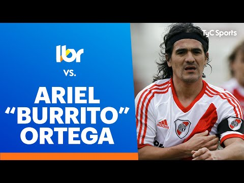 """Líbero VS ARIEL """"BURRITO"""" ORTEGA   """"Maradona me dio un abrazo cuando lo necesité"""" - TyC Sports"""