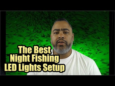 How To Install Night Fishing Lights For Boats