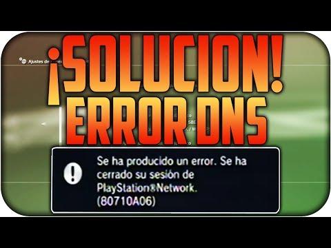 ¡SOLUCIÓN! | Como arreglar Error DNS (80710A06) en PS3 y PS4