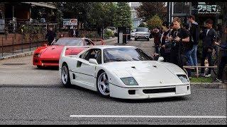 【フェラーリMT】F40がお尻を流してあわや事故!? Ferrari MT in Tokyo.
