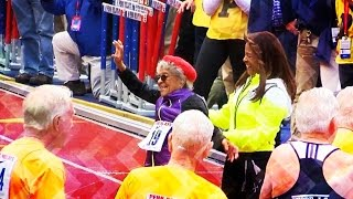 100-year-old Ida Keeling breaks 100m dash World Record for 100-year-olds!