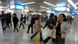 Busy Subway Station, Tokyo