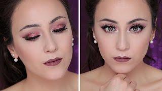 Pink Metallic Eye Make-up Tutorial | Hatice Schmidt