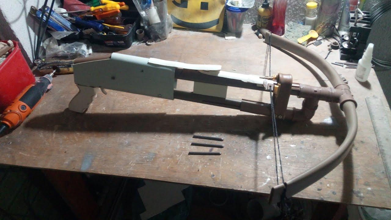 Crossbow pump-action de PVC