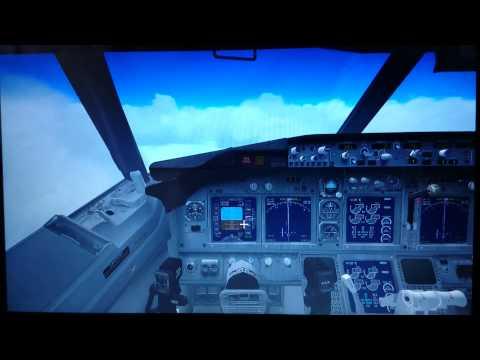 Cockpit.. Boeing 737-800..