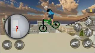 Rooftop BMX Bicycle Stunts Best Android Gameplay FHD