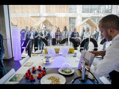 Food Ink - The World's First 3D-Printing Restaurant