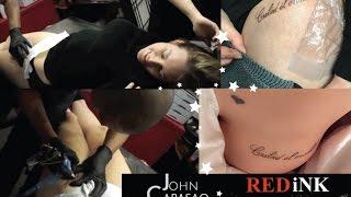 Tracy Kiss Hungarian Script Tattoo By John Capasao