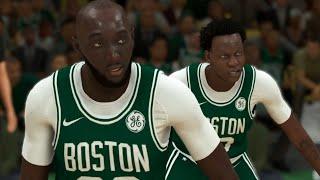 NBA 2K20 Bol Bol My Career - Twin Towers in Boston!