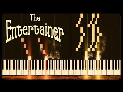 The Entertainer - Scott Joplin [Piano Tutorial] (Synthesia)