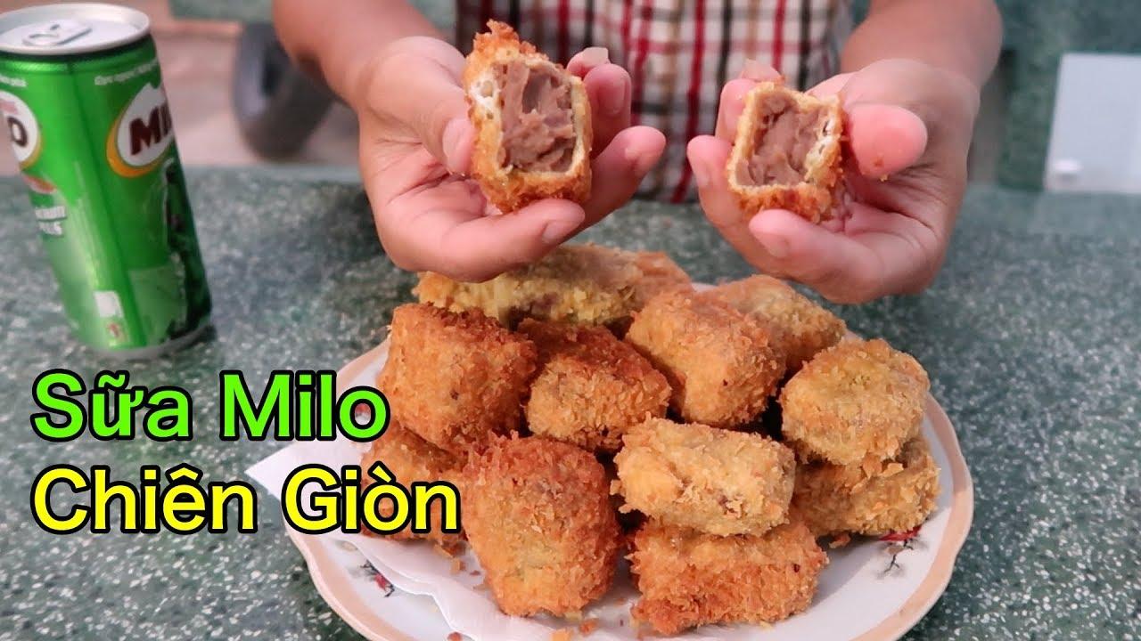 Lâm Vlog – Làm Sữa Milo Chiên Giòn | Fried Milo
