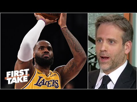Max marvels at LeBron consistently hitting 3-pointers | First Take