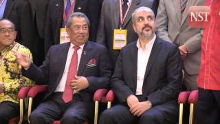 Tan Sri Muhyiddin Yassin closes 4th UMNO International Forum