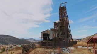 Colorado History - Victor Colorado - DJI Inspire 2