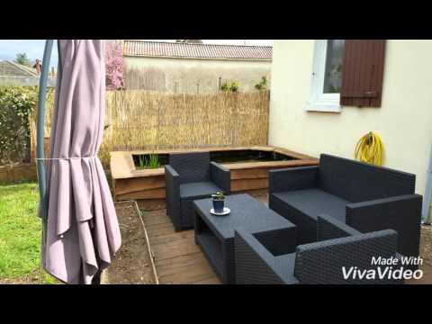 bassin hors sol youtube. Black Bedroom Furniture Sets. Home Design Ideas