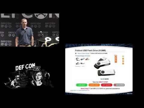 DEF CON 23 - Jeremy Dorrough - USB Attack to Decrypt Wi Fi Communications