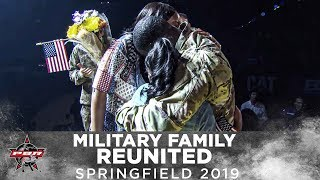 Be Cowboy: Military Family Reunites at their First PBR Event | 2019