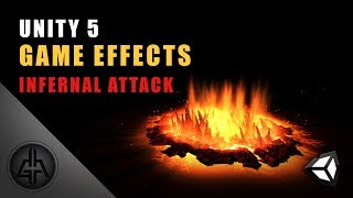 Unity 5 - Game Effects VFX - Infernal Attack