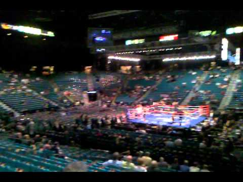 At the MGM Grand Garden Arena in Las Vegas for Fight Night YouTube