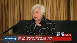 Yellen Sees No Evidence Fed Has Fallen Behind the Curve