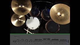 Learning Drums Lesson - 16th Note Triplets
