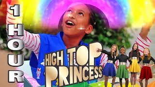 New Sky Kids High Top Princess Magic Shoes Season 1 - 1 Hour with the Princess Heroes
