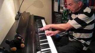 J.S. Bach - gigue (piano)