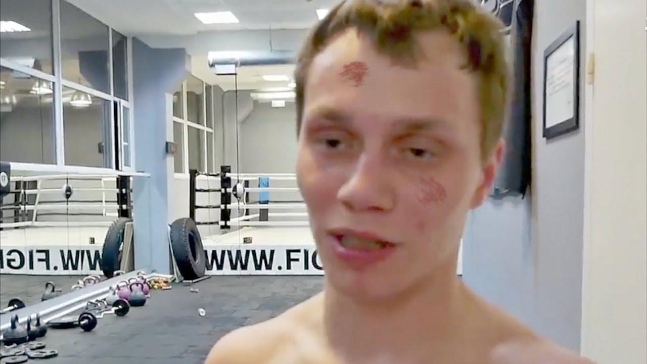 Брата близнеца Тарасова вырубили в зале!