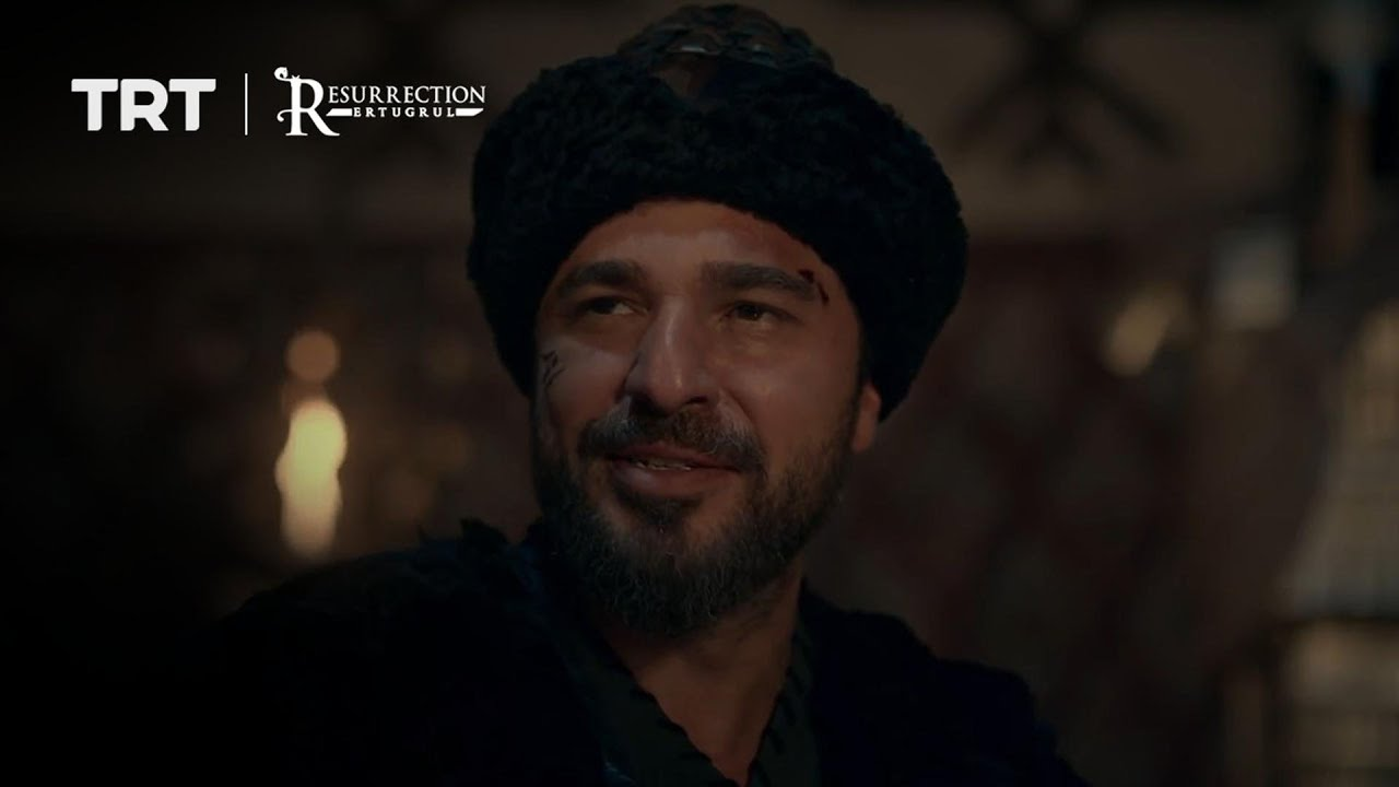 Ertugrul singing a song