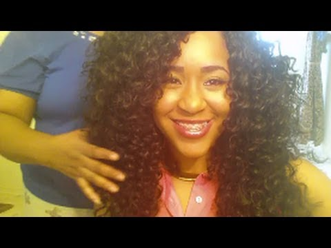 Freetress Crochet Hair Youtube : ... : LATCH HOOK/CROCHET HAIR TUTORIAL WITH FREETRESS GOGO CURL - YouTube