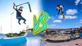 GAME OF SCOOT! *RAYMOND WARNER VS WAZZEH* thumbnail