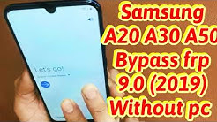 FRP Bypass Google Account SAMSUNG Galaxy A50 Without pc