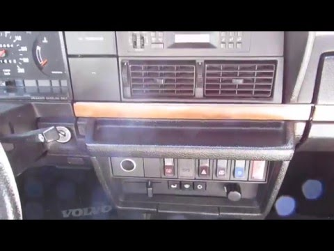 1993 Volvo 240 Classic Limited Youtube