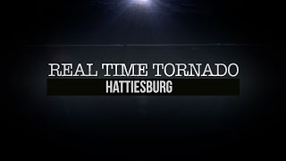 Tornado Alley-Real Time Tornado on Weather Channel – featuring Hattiesburg (Part 1)