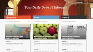 A Demo of HubSpot's Marketing, CRM & Sales Demo 2016