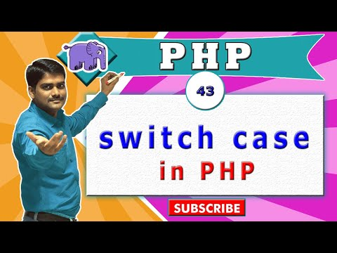PHP Video Tutorial 43 - Switch Case Statement In PHP