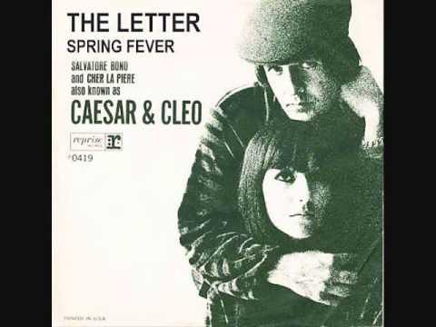 CAESAR & CLEO (Sonny & Cher) sing THE LETTER in 1963