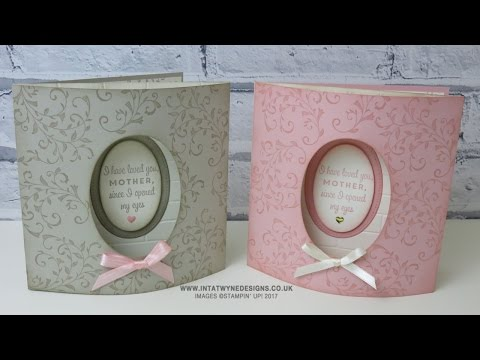 Mothers Day Week: Domed Front Card