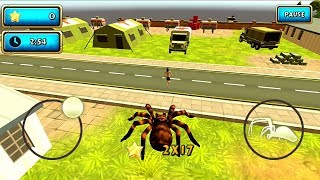 Spider Simulator Amazing City Android Gameplay #1