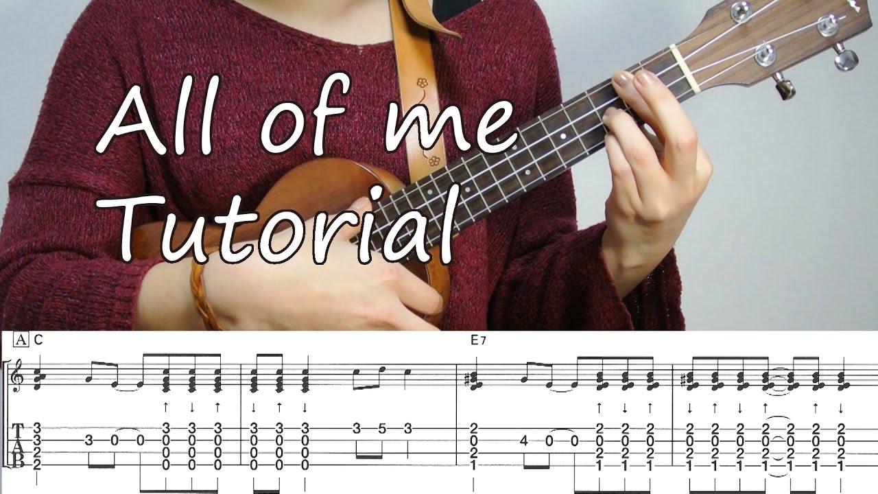 All of me ukulele jazz tutorial youtube all of me ukulele jazz tutorial baditri Image collections