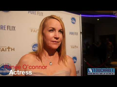 Renee O'Connor A Question of Faith Movie Premier
