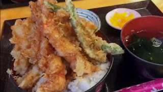 浦添牧港漁港の海鮮食堂『太陽(てぃーだ)』人気メニューエビだけ天丼...