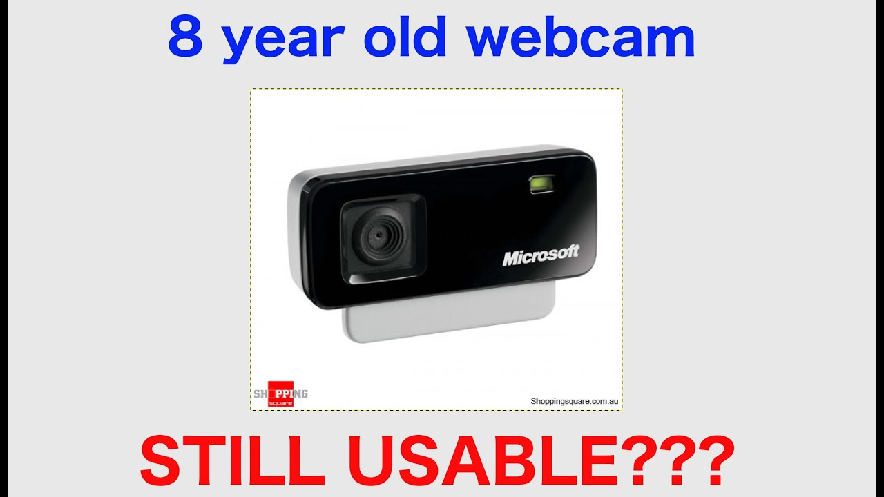 Older webcam tube