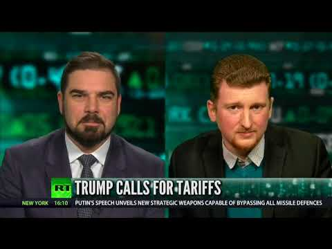 Steel Tariffs on China won't help - Caleb Maupin on Boom Bust with Bart Chilton